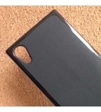 Силиконов калъф за Sony Xperia L1 черен гръб