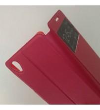 Калъф за Sony Xperia M4 Aqua флип тефтер Book червен