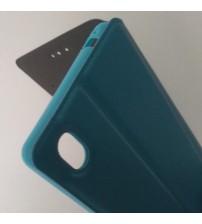 Калъф за Sony Xperia M4 Aqua флип тефтер Book син