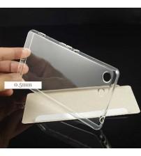 Силиконов калъф за Sony Xperia M5 прозрачен гръб