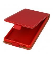 Калъф тефтер за Sony Xperia M5 червен Flexi