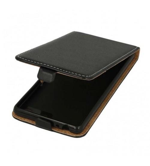 Калъф тефтер за Sony Xperia M5 черен Flexi