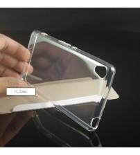Силиконов калъф за Sony Xperia XA прозрачен гръб