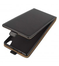 Калъф тефтер за Sony Xperia XA черен Flexi