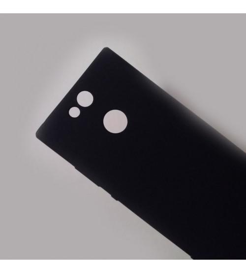 Силиконов калъф за Sony Xperia XA2 гръб черен Lux