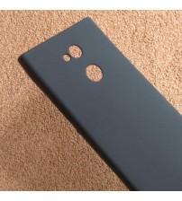 Силиконов калъф за Sony Xperia XA2 Ultra гръб черен Lux