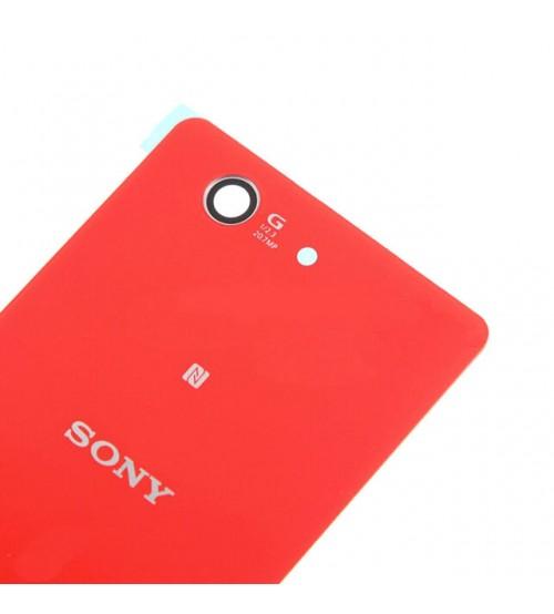 Заден капак за Sony Xperia Z3 Compact D5803 червен
