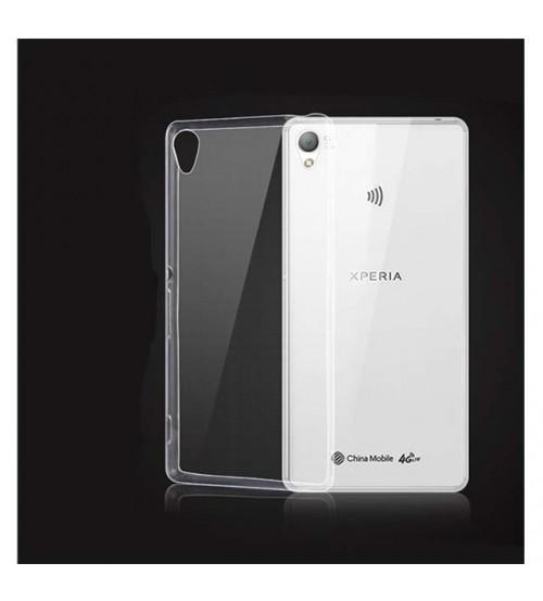 Силиконов калъф за Sony Xperia Z3 прозрачен гръб