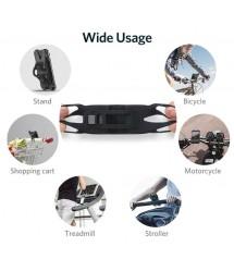 Стойка за телефон за детска количка или колело Baseus черна