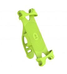Стойка за телефон за колело Baseus зелена