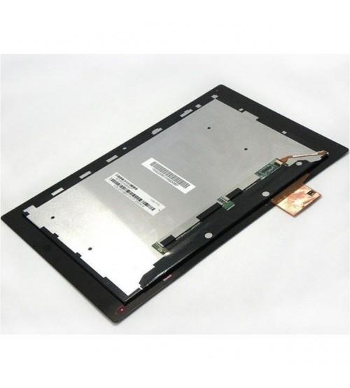 Дисплей с тъч скрийн за таблет Sony Xperia Z SGP321 черен