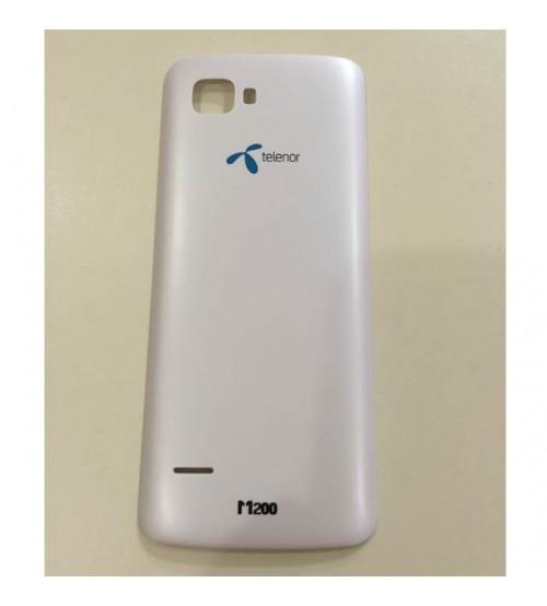 Заден капак за Telenor M200 бял