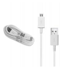 Usb кабел за Samsung S4 / S3 / S2 бял