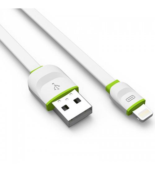 Usb кабел за зареждане на Iphone 6/5/5s Ldnio Flat