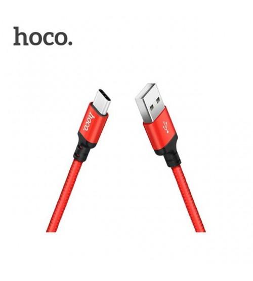 USB кабел за зареждане Type-C Hoco X14 2 метра