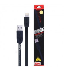 Usb кабел за зареждане на iPhone 6 / 5 / 5s Remax 2 метра
