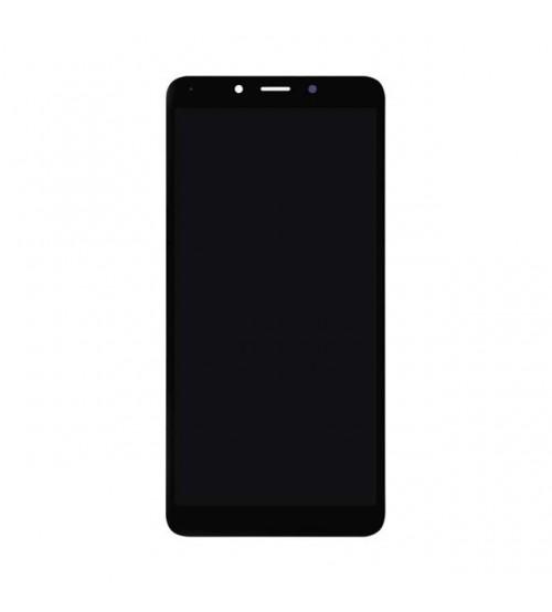 Дисплей с тъч скрийн и стъкло за Xiaomi Redmi 6 / 6A черен