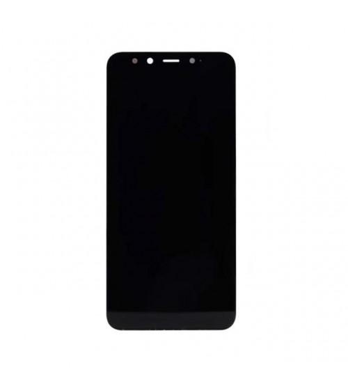 Дисплей с тъч скрийн и стъкло за Xiaomi Mi A2 черен