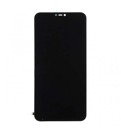 Дисплей с тъч скрийн и стъкло за Xiaomi Mi A2 Lite черен