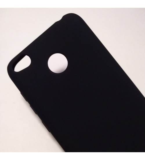 Калъф за Xiaomi Redmi 4X силиконов гръб черен Lux