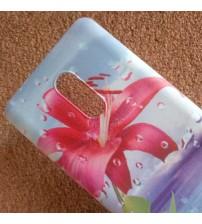 Калъф за Xiaomi Redmi Note 4 силиконов гръб червено цвете