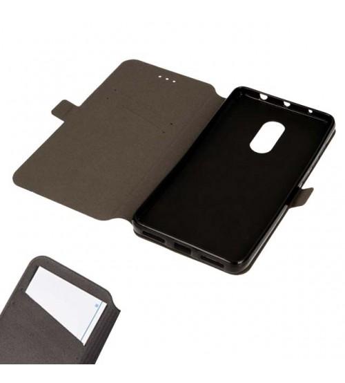 Калъф тефтер за Xiaomi Redmi Note 4 Book Pocket черен