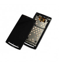 Дисплей с тъч скрийн за Sony Ericsson Xperia Arc S LТ18i / LТ15i черен