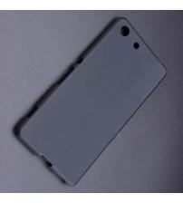 Силиконов калъф за Sony Xperia M5 черен гръб