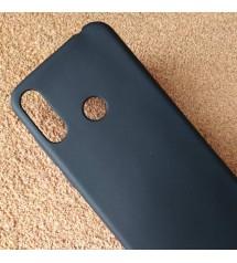Калъф за Huawei Y6 2019 силиконов гръб черен