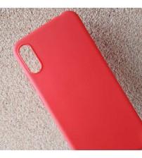 Калъф за Huawei Y6 2019 силиконов гръб червен