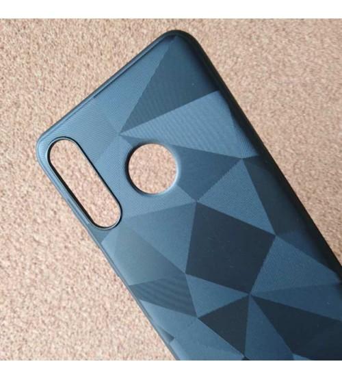 Калъф за Huawei Y7 2019 силиконов гръб черен призма