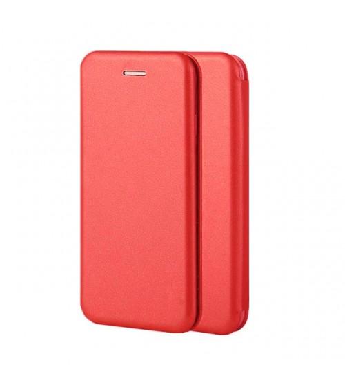 Калъф за Huawei Y7 2019 тефтер тип книга червен Lux