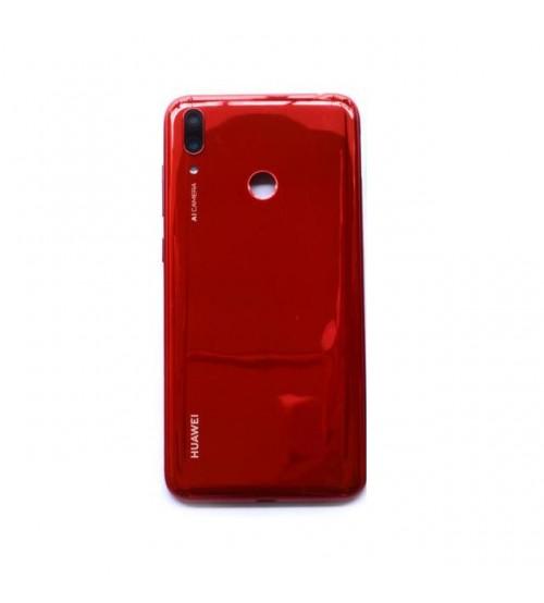 Заден капак за Huawei Y7 2019 червен
