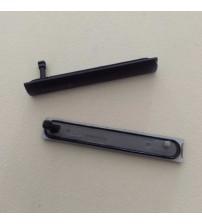 Капачета за USB и SIM за Sony Xperia Z3 Compact черни
