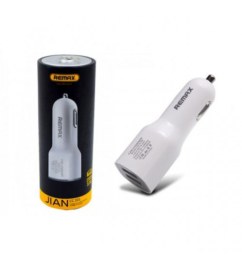 Зарядно за телефони HTC за в кола Remax с два USB порта